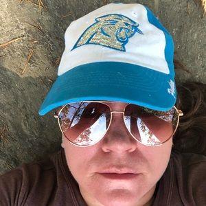 Womens Carolina Panther ball cap